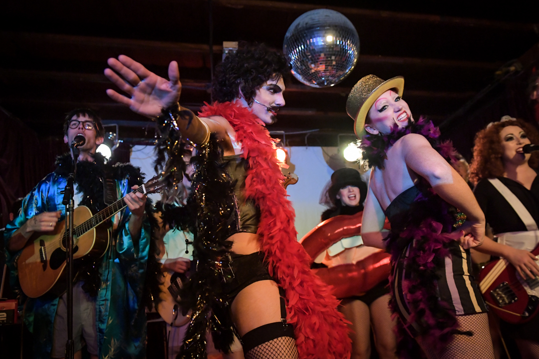 The Spin: The Rocky Horror Rock 'n' Roll Show at The End, 12/31/2017