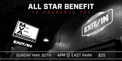 Aaron Lee Tasjan, Luke Schneider, Many More to Play Benefit for Exit/In