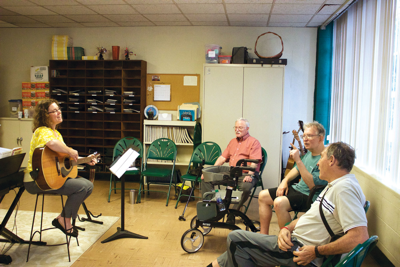 For Some Local Parkinson's Patients, Songs Could Bring More Than Just Joy