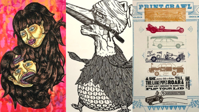 Turnip Green Creative Reuse and Platetone Launch Art Auction on Friday