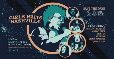 Girls Write Nashville benefit 2021