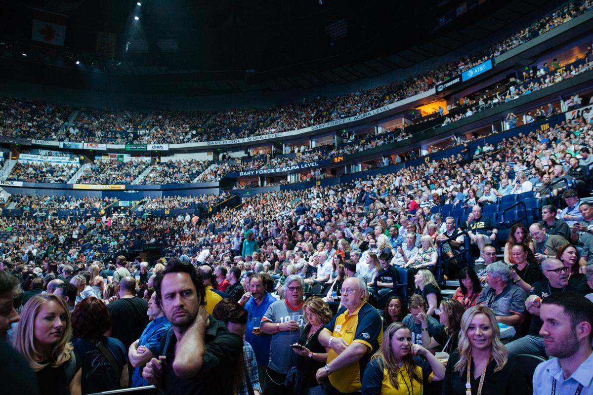 U2 Challenges Itself and Audience at Dazzling Bridgestone Arena Debut