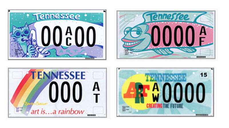 We Redesigned the Speciality License Plates That Support the Arts