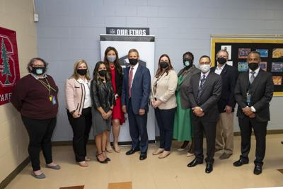 05/11/21 Governor Bill Lee visits Neely's Bend Middle School