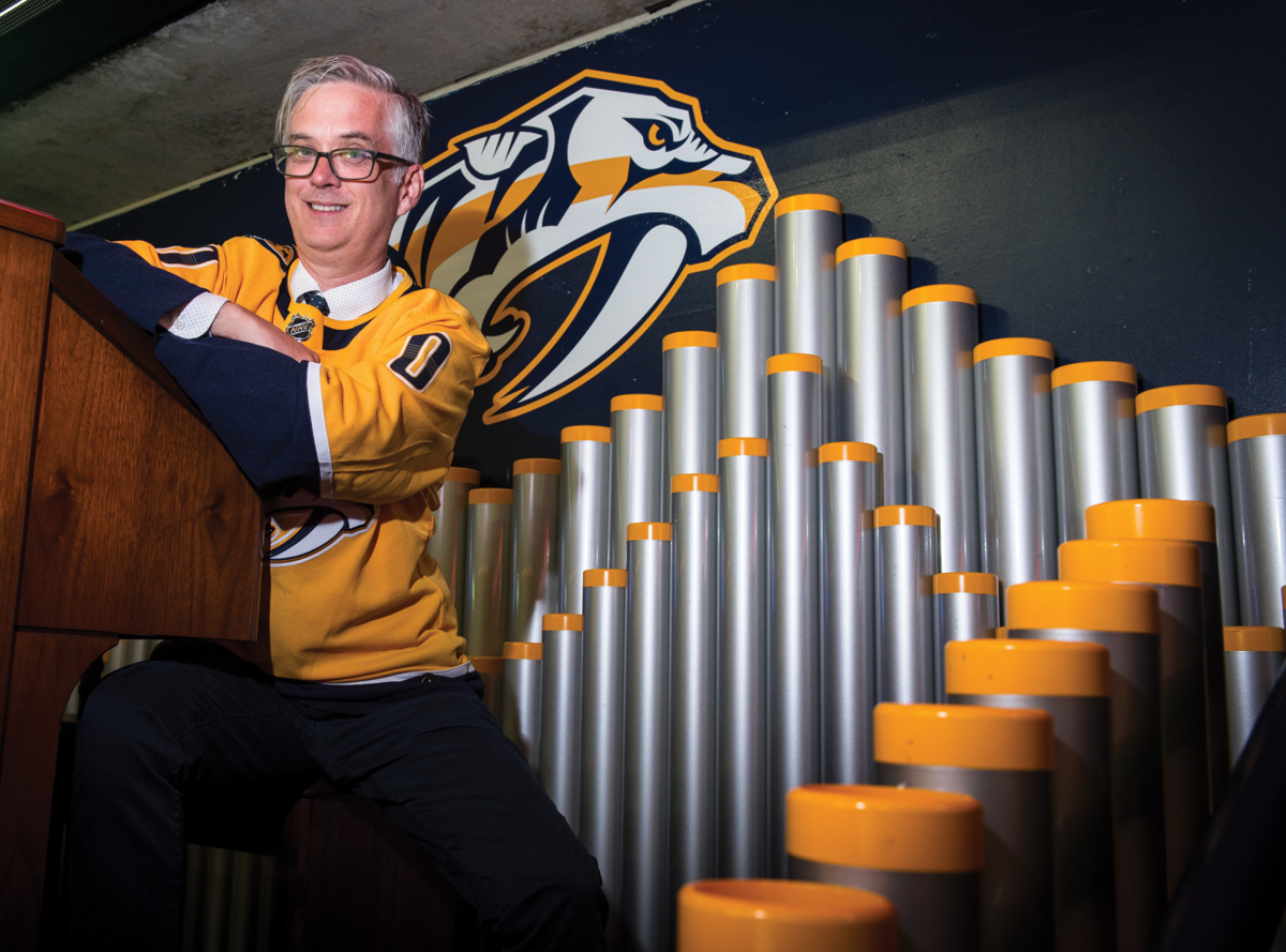 Catching Up With Preds and Sounds Organ Virtuoso Krazy Kyle Hankins