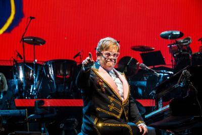 Elton John at Bridgestone Arena, October 2018