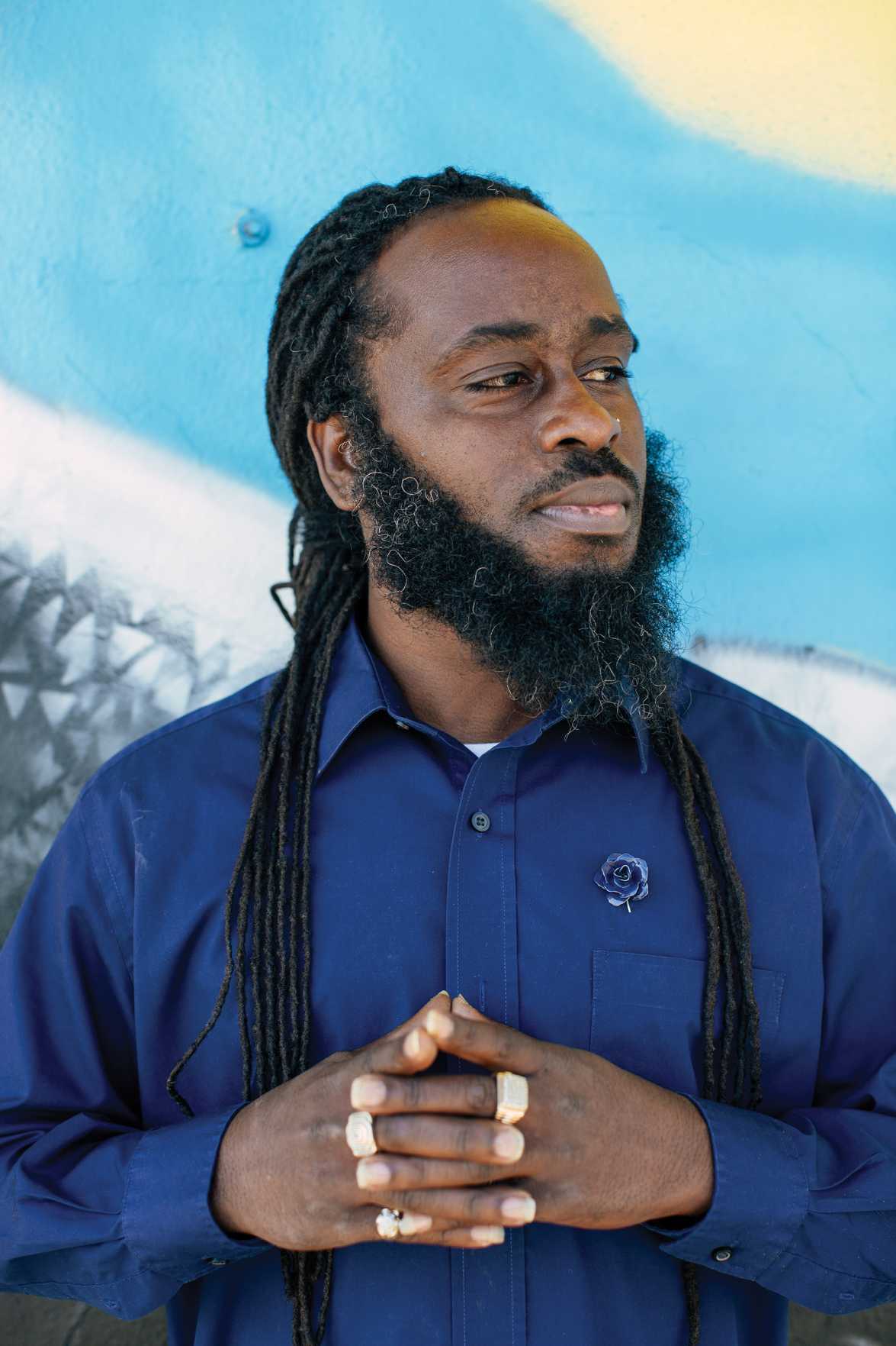 Muralist Charles Key Wants to Teach Kids That Art Can Be a Way to Dream