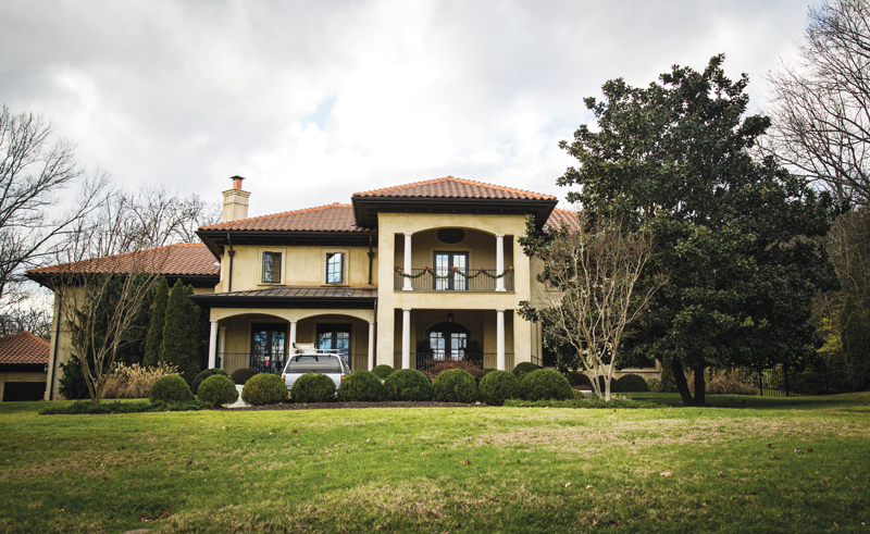 DeKalb County and a high-end home swap appear on this month's list of top home sales
