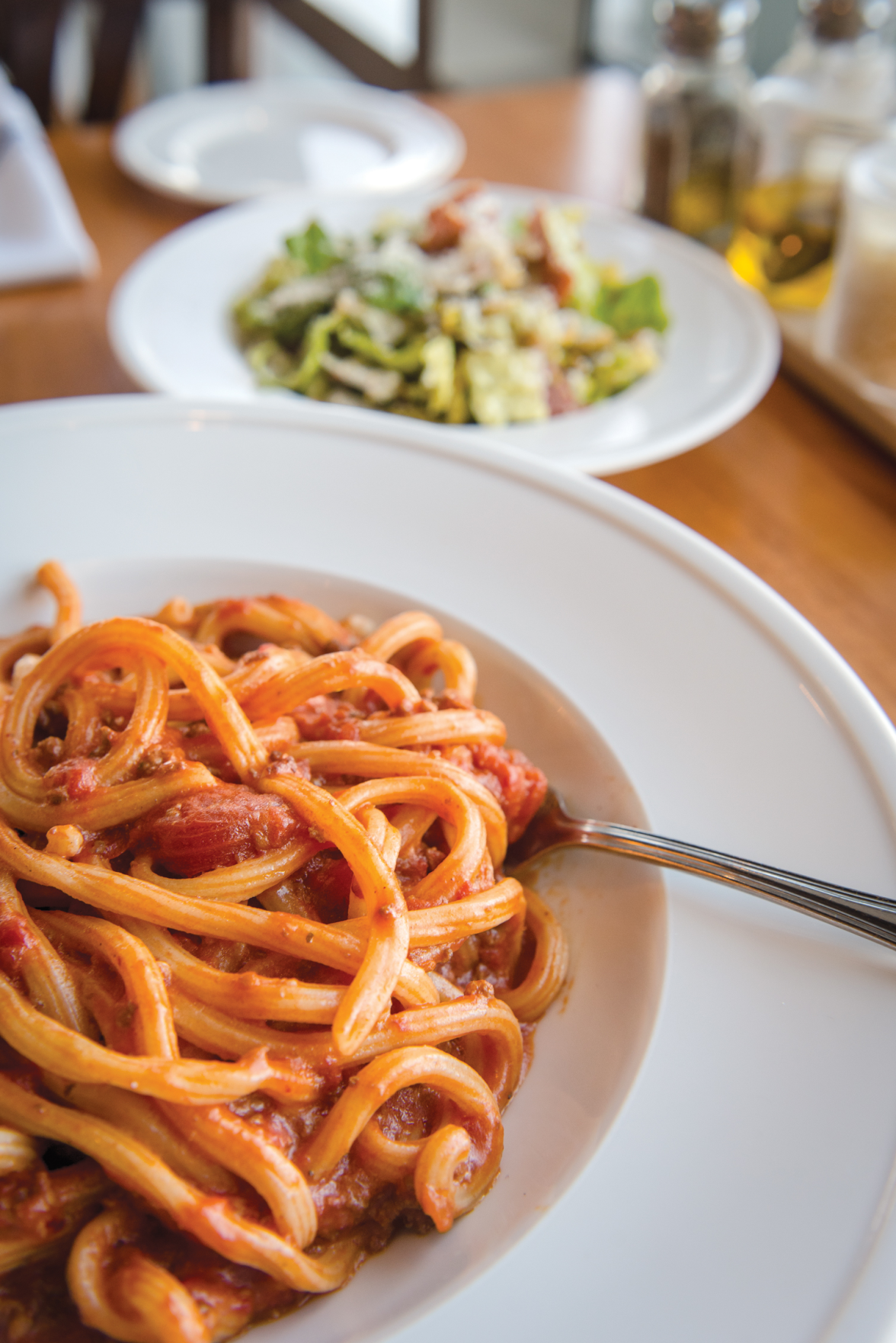 Pastaria's Food Satisfies, Even if the Execution Is Wanting