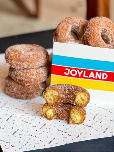 Joyland Apple Cider Doughnuts
