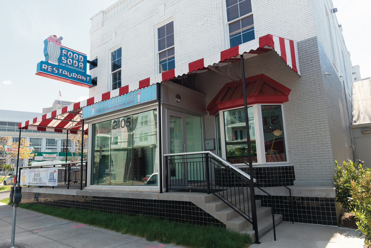 Elliston Place Soda Shop Is Set to Bring Folks Back to the Rock Block