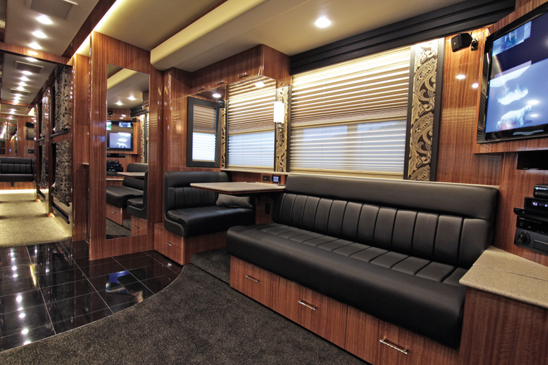Inside the Nashville tour bus company that caters to rock stars, politicians and popes alike