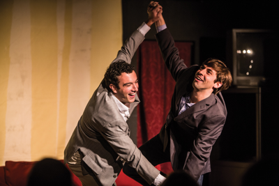 A dynamic local duo brings the late-night-talk-show format to Centennial Park