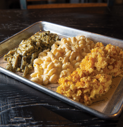 Veg Out: Honeyfire Barbeque Co. — Veggie Plate — $8.25
