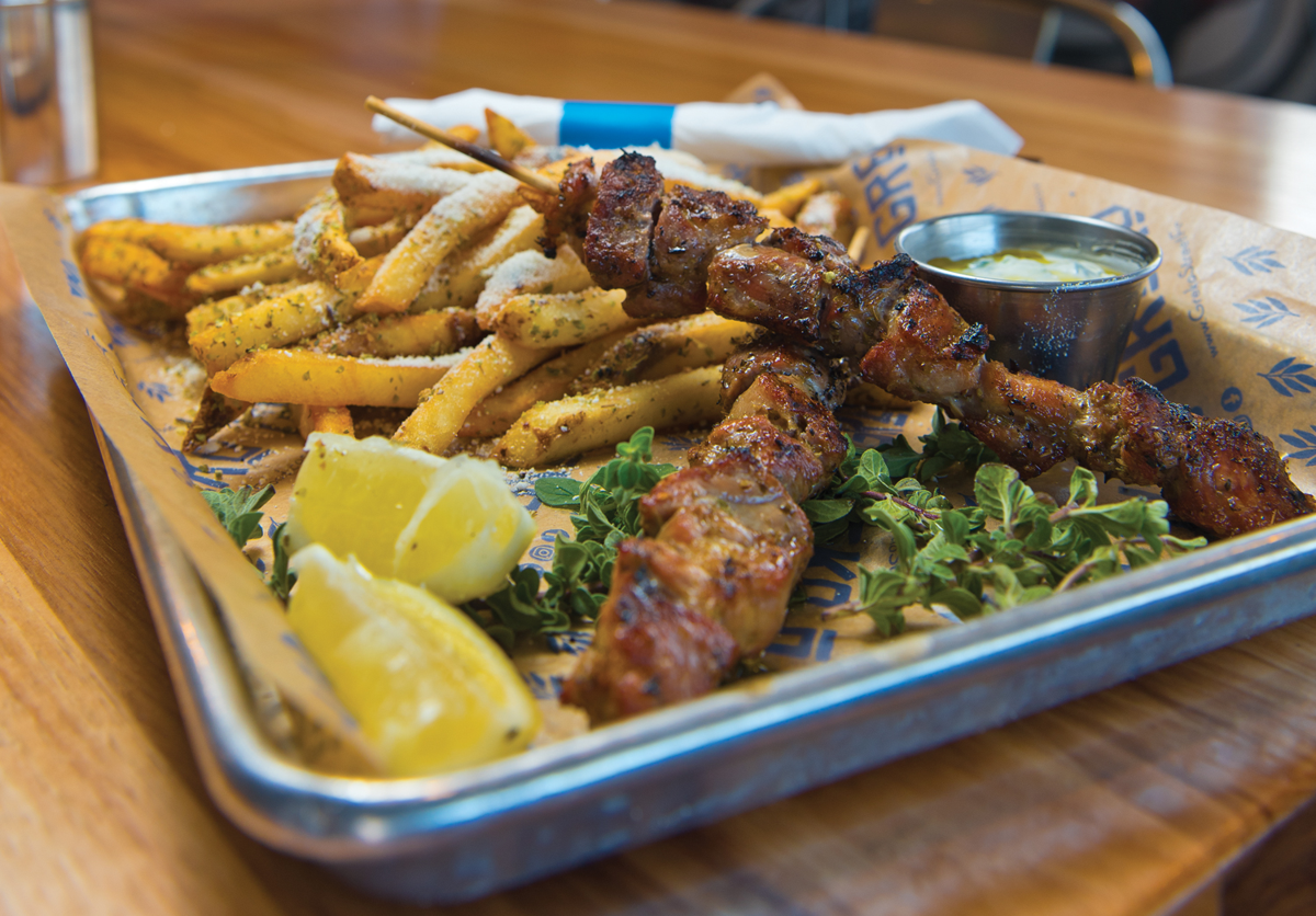 Greek Street Food Finds a Delicious Home at Greko