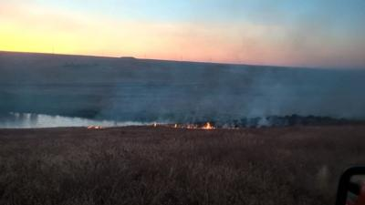 Fire burns 20 acres in West Richland