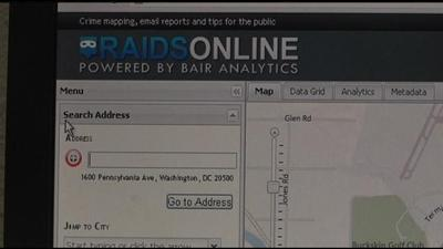 Online Mapping Database Shows Crime Locations in Richland