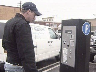 Warning time is over, now you could get a ticket for downtown parking