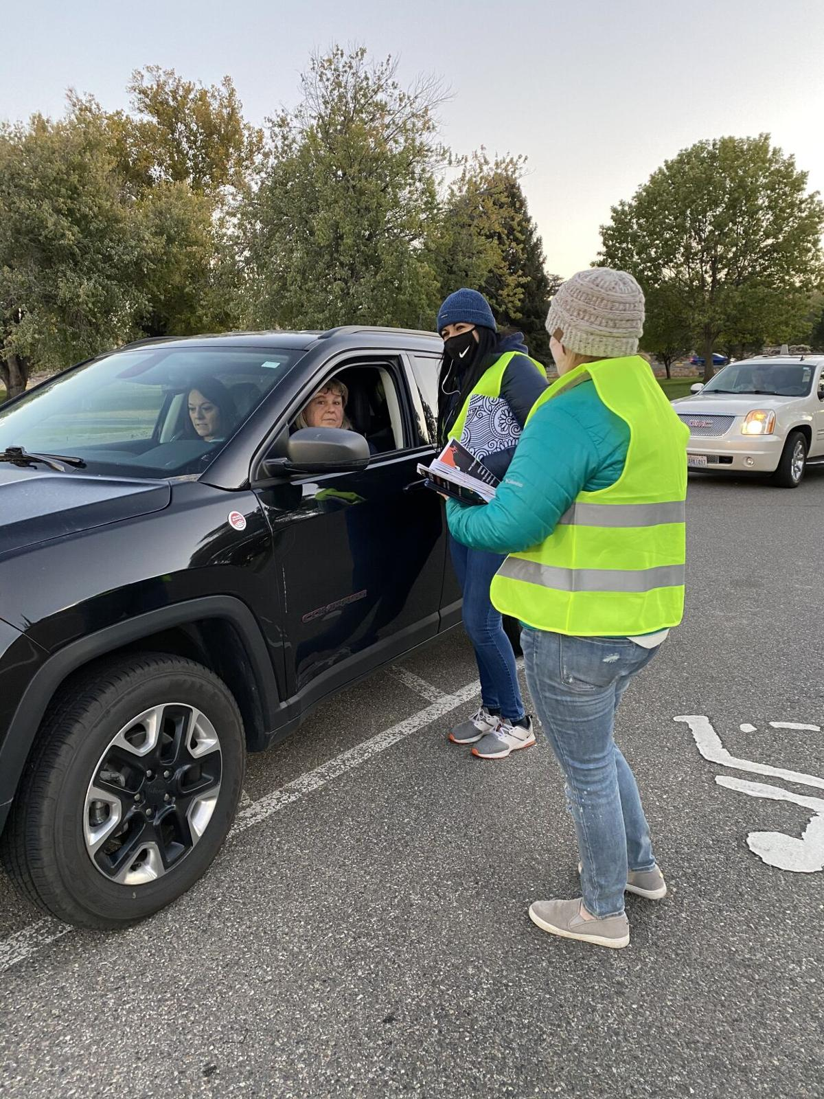 Drive-in movie to support those in need during holiday season