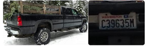 missing man's truck