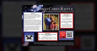 Pasco Cares Raffle in support of local officer's family expenses after ATV accident