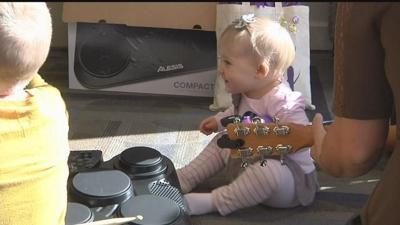 New Kadlec music program helping kids heal