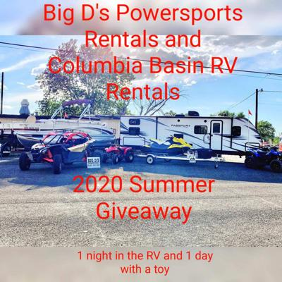 Celebrate summer with Big D's Powersports Rentals Fourth of July giveaway