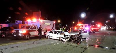 Police investigating wrong way accident in Pasco