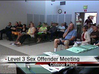 Level 3 Sex Offender Meeting