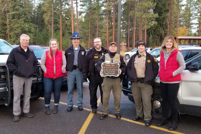Teen drivers rewarded for safe driving at Cle Elum-Roslyn High School 2
