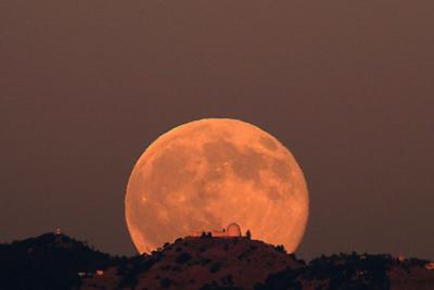Plump, colorful 'strawberry moon' to light up sky this week
