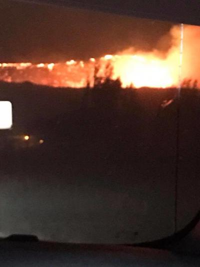 Ryegrass Coulee Fire 50% contained, hoping to reach 80% containment by Wednesday night