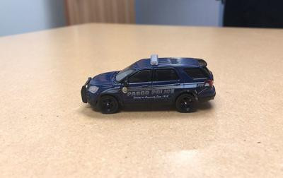 Pasco police toy car