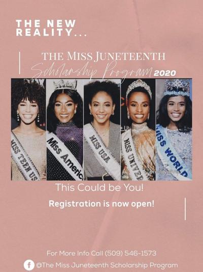 Miss Juneteenth 2020 Registration Flyer