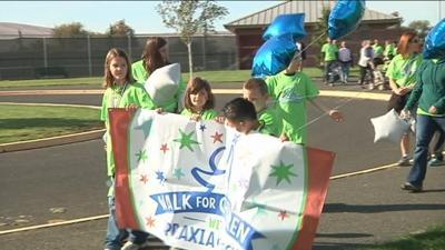Walk Raises Thousands for Childhood Speech Impediment