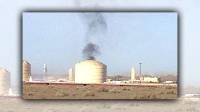 Fire and Explosion at Natural Gas Plant near Plymouth