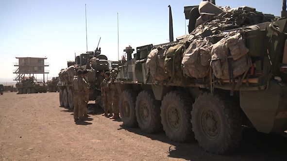 Soldiers Training at YTC