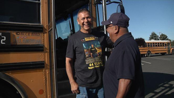 Bus Driver Retires