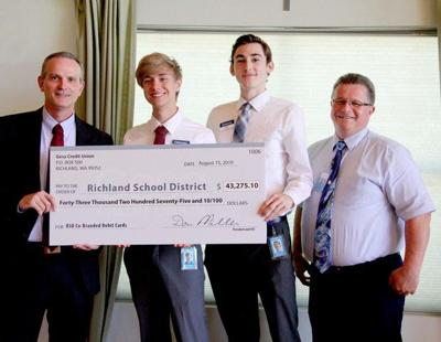 Richland School District receives more than $43,000 to support students