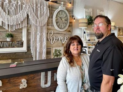 Oregon couple turns repurposed furniture passion into business