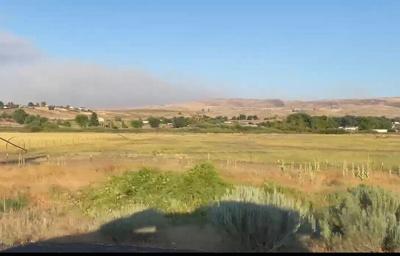 Burbank Creek Fire Near Selah Has Burned Over 1000 Acres