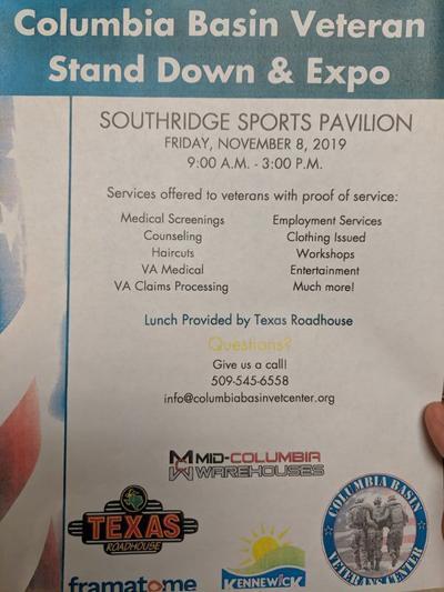 Columbia Basin Veteran Stand Down & Expo