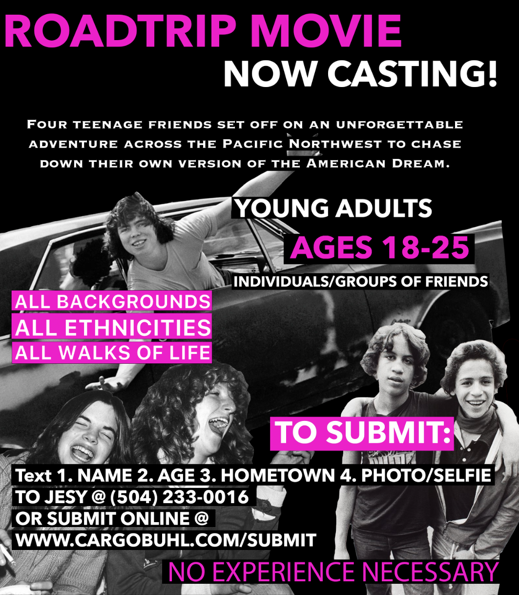 Casting Flyer 2