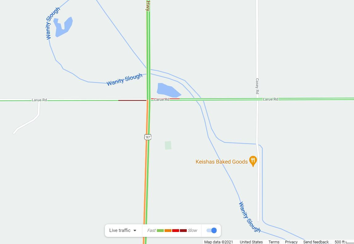 TRAFFIC ALERT: Hwy 97 is closed near Toppenish due to a collision