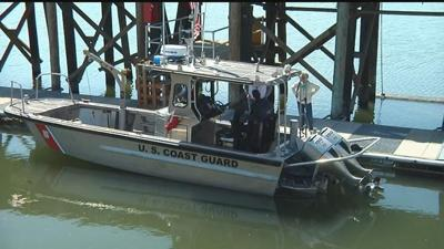 Kennewick Coast Guard boat found sunken in Snake River