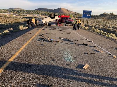 TRAFFIC ALERT: Crash on WB I-82 at the Badger Canyon exit