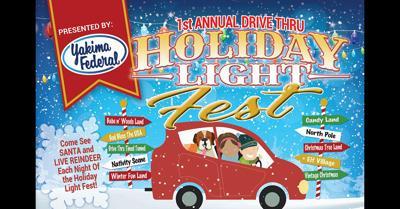 Drive-Thru Holiday Light Fest at State Fair Park