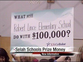 Selah school starts spending cash prize from national contest