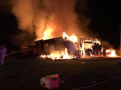 Early Morning House Fire in Benton County