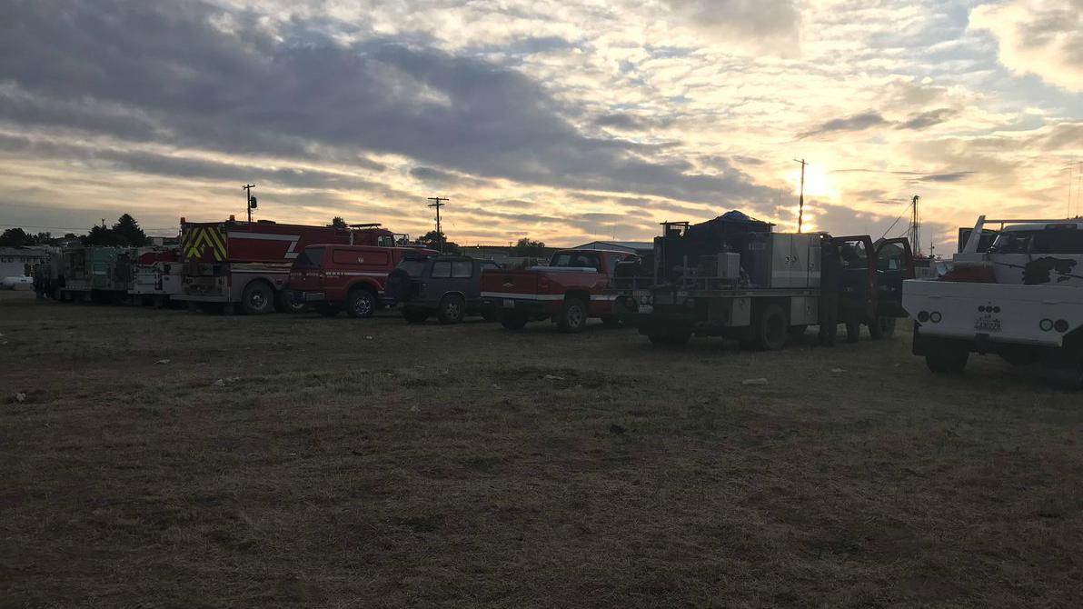 Highway 243 Fire